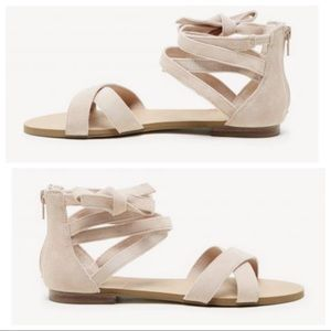 10 Sole Society SANA Sandals Light Camel Suede Tan
